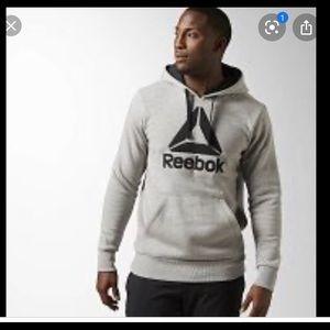 REEBOK hoodie Pullover Jacket size L